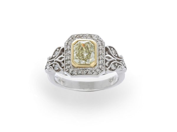 18ct gold two-tone